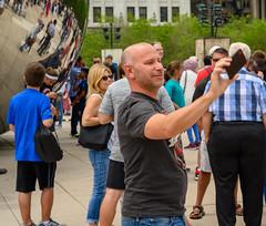 Selfies at the Bean XXI (Jim Frazier) Tags: 5000people 201920190608downtownchicago2019selfiesatthebeanmillenniumparkwscfartattractionbeanbusinessdistrictcandidscellphoneschicagocitycloudgatecloudycookcookcountycouplesdowntownfamiliesfunhappinesshappyilillinoisjimfraziercomjoyj