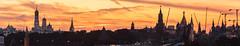 Moscow Sunset (gubanov77) Tags: panorama sunset sky skyline city cityscape moscow russia moscowkremlin