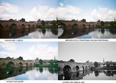 River Nith Test Group MF-1 (bigalid) Tags: film comparison plastic 35mm august 2019 devorgilla bridge river nith