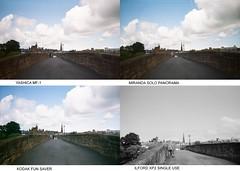 Devorgilla Bridge Test Group MF-1 (bigalid) Tags: film comparison plastic 35mm august 2019 devorgilla bridge