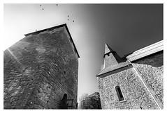 Gammelgarns kyrka och kastal (leo.roos) Tags: gammelgarn church 14thcentury castle tower 12thcentury crow shadow flare architecture architectuur noiretblanc churc toren tegenlicht omhoog licht lichtsch schaduw zon a73 geschiedenis 16354 solaag a7iii zweden sweden sverige swedengotlandspring2019 sonycarlzeissvariotessarfe1635mmf4zaoss variotessar16354 sel1635z variotessartfe41635 sonycz16354 darosa leoroos gotland