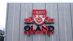 Oland Brewery Sign - Halifax, Nova Scotia (Coastal Elite) Tags: olandbrewery halifax novascotia canada brewery building beer brewing architecture design oland brasserie factory plant bière alcohol company business thehydrostone hydrostone northend sign logo name neon heraldry shield héraldique armoiries crest écu neonsign signs maritimes atlanticcanada breweries industrial