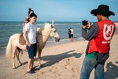* (Sakulchai Sikitikul) Tags: street snap streetphotography summicron songkhla sony a7s 35mm seascape samilabeach beach thailand hatyai leica horse