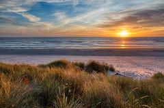 Oregon Sunset HDR (woodwindfarm) Tags: sunset oregon coast beach