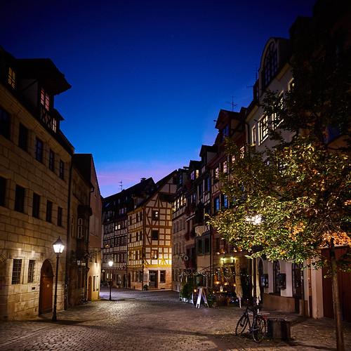 Nürnberg Weißgerbergasse, Germany