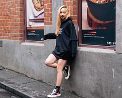 Converse (McLovin 2.0) Tags: pose candid portrait sneakers converse chucks street streetphotography urban city melbourne blonde style fashion
