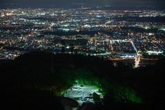 Seen from Mt. Moiwa (Sapporo, Japan) (Hideki-I) Tags: nikon z7 2470 moiwayama sapporo hokkaido japan night city 藻岩山 日本 北海道 札幌