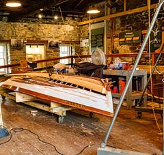 Boat Restoration 242 of 365 (Year 6) (bleedenm) Tags: claytonstlawrenceriver2019augustflowersoutdoorssculpturessummerwaterst lawrence riverthousand island parknynew york state