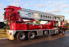 Oostburg Concrete Conveyor Truck (raserf) Tags: oostburg concrete cement telebelt tb 110 conveyor truck trucks putzmeister sturtevant wisconsin racine county mack pump pumper pumping