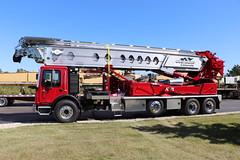 Oostburg Concrete Conveyor Truck (raserf) Tags: oostburg concrete cement telebelt tb 110 conveyor truck trucks mack putzmeister pump pumper sturtevant wisconsin racine county