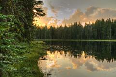 Alpine Sunset (PhotograTherapy (James Edmondson)) Tags: nikon d850 sunset clouds water reflections lake forest oregon wallowas