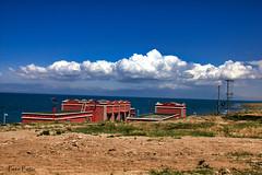 5465a (petewong2010) Tags: tibet travel sea clouds cloud landscape land blue sky