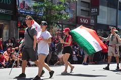 Défilé du Canada à Montréal