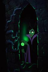 Maleficent. (LisaDiazPhotos) Tags: disneyland disney parks disneycaliforniaadventure lisadiazphotos maleficent sleeping beauty castle