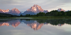Grand Teton (valentina425) Tags: grandteton mountains river morning reflections summer sunrice wyoming