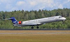 Airport Stockholm-Arlanda (ARN/ESSA) 21.08.2019 (axeljanssen) Tags: schwden arlanda flugzeuge arnessa crj900 bombardier sas eifpa