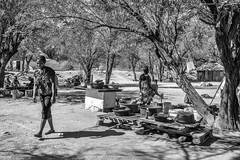 Faces Of Namibia XVI (Rainer ❏) Tags: holzschnitzer woodcarver verkäufer sellers woodcarverscraftmarket holzschnitzermarkt streetphotography streetshot portrait gesichter faces sw bw bn okahandja namibia afrika x100f rainer❏