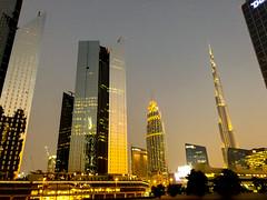 Downtown Dubai (Francisco Anzola) Tags: uae dubai city skyline sheikhfayed skyscrapers buildings