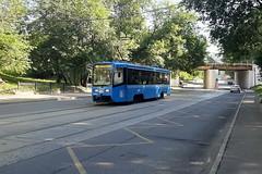 71-619А № 4085 (zauralec) Tags: moscow москва трамвай транспорт город улица moskva andronyevskiyproyezd 71619а № 4085