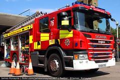 KX68 DSE | Scania P280 (Angloco) | Bedfordshire Fire & Rescue Service (james.ronayne) Tags: kx68 dse scania p280 angloco bedfordshire fire rescue service luton community station