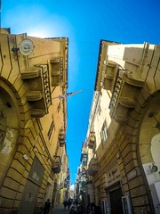 City Street (Tony Shertila) Tags: nikon5300 stgeorgesday architecture buildings city cruise europe malta mediterraneansea parade road ship tourist valletta worldcruise 201904280950560 gopro