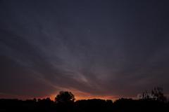 Aurore_DSC5556 (H.Valez) Tags: paysage nature aurore soleil lumière rouge lune petite horizon matin
