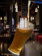 Let It Flow (Chris Scopes) Tags: smileonsaturday lager pub bar pour liquid beer glass indoor letitflow