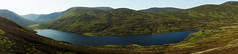 Loch Callater in Panoramic (steve_whitmarsh) Tags: landscape aberdeenshire scotland scottishhighlands mountain hills highlands water loch lochcallater lake panorama topic cairngorms