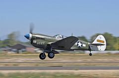 "Curtiss P-40N-5 Warhawk ""19 SUZY"" S/n.42-105861 NL49FG (GEM097) Tags: airplane aircraft warbird airshow curtissp40warhawk nl49fg warhawkroundup2019 nampaairport"