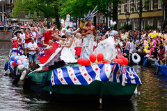 Gay Pride, Canal Parade Amsterdam, PGL Roze Zaterdag 2020 Leeuwarden, 2019 (wally nelemans) Tags: gaypride canalparade pgl rozezaterdag2020leeuwarden lgbt prinsengracht nederland holland netherlands 2019 amsterdam