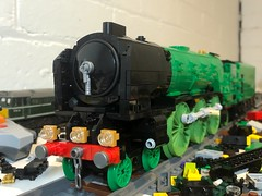Tornado work... (Britishbricks) Tags: moc train steam wip tornado peppercorn a1 lner lego