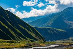 Truso valley, Kazbegi, Georgia (CamelKW) Tags: georgia mtskhetamtianeti georgia2019 kazbegi trusovalley
