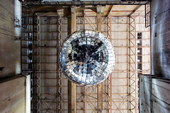 generation. (jonathancastellino) Tags: abandoned derelict decay ruin ruins power station hearn leica m disco ball discoball art installation giant toronto