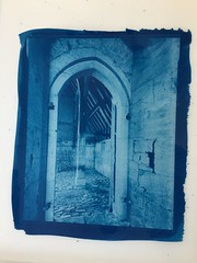 One more Cyanotype (CactusD) Tags: altpro cyanotype alternativeprocesses 8x10 10x8 contactprinting contactprints berggercot320paper 11x14 largeformat largeformatphotography chamonix 810v large format film texture architecture medieval wood light greatbritain great britain uk unitedkingdom gb england oxfordshire greatcoxwellbarn coxwell oak details ilford fp4 blackandwhite monochrome bw black white blackwhite nikkorsw150mmf8 nikkor 150mm f8 epson pyrocathd btzs