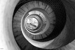 To The Light | Explore 01-09-19 (@noutyboy (Instagram)) Tags: staircase spiral spiraaltrap explore spiralstaircase trap trappenhuis nederland haarlem architecture bnw monochrome canon