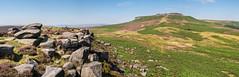 Higger Tor from Carl Wark (Maria-H) Tags: hills carlwark higgertor peakdistrict derbyshire uk olympus omdem1markii panasonic 1235 panorama
