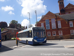 SN63NAU 27904 Stagecoach Merseyside and South Lancashire in Chester (Nuneaton777 Bus Photos) Tags: stagecoach merseysideandsouthlancashire adl enviro 300 sn63nau 27904 chester