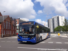 SN16OPG 26052 Stagecoach Merseyside and South Lancashire in Chester (Nuneaton777 Bus Photos) Tags: stagecoach merseysideandsouthlancashire adl enviro 200mmc sn16opg 26052 chester