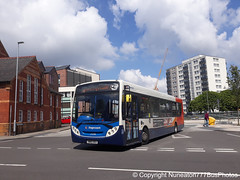 SN65OEO 27294 Stagecoach Merseyside and South Lancashire in Chester (Nuneaton777 Bus Photos) Tags: stagecoach merseysideandsouthlancashire adl enviro 300 sn65oeo 27294 chester