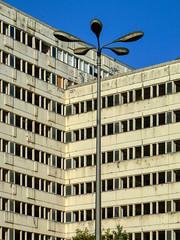 Haus der Statistik... (BarHil_BS) Tags: berlin hausderstatistik ostberlin barbarahilmerschröer leipzigertropfen ostlampe