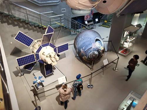 Museo de la cosmonáutica. Moscú. Rusia