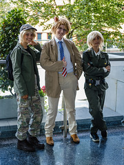 England and USA - Hetalia (timz2011) Tags: england usa hetalia cardiffanimeandgamingconaugust2019sunday cardiffanimeandgamingcon cagc cosplay anime gaming fujifilm