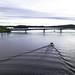 Bellanveneitä menossa Saaristokadun sillan ali