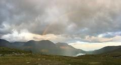 Tarradalen from Gurravagge (maddeaboutthewild) Tags: lapland lappland laponia padjelanta badjelannda badjelanda fjäll mountain tarradalen tarrekaise darravrre tarraure padjelantaleden rainbow gurravagge