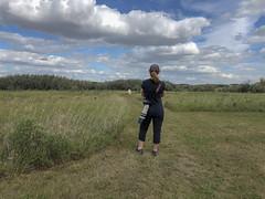 Janet sets out (octothorpe enthusiast) Tags: saskatoon saskatchewan chappellmarshconservationarea