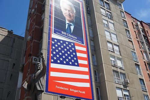 Statue of Bill Clinton, Pristina, Kosovo
