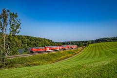 DB: 218 409 (Pascal Hartmann Photography) Tags: deutschland badenwürttemberg meckenbeuren db re deutschebahn 218