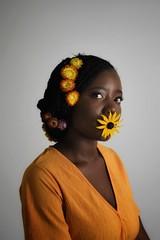 livia (113)-01 (Neal J.Wilson) Tags: portrait portraits african africa flowers yellow pink women
