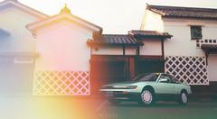 Nissan Silvia (at1503) Tags: japan car lensflare nissan silvia nissansilvia japanesecar coupe green wheels filmgrain retro buildings sky gtsport granturismo granturismosport motorsport racing game gaming ps4