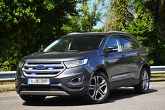 Unmarked Ford Edge (S11 AUN) Tags: hampshire constabulary police ford edge titanium 4x4 patrol car panda irv incident response vehicle safernieghbourhoodteam snt 999 emergency